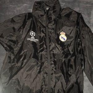 Champions League Real Madrid Rain Jacket